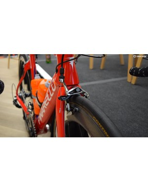 A look at the SRAM Red front brake