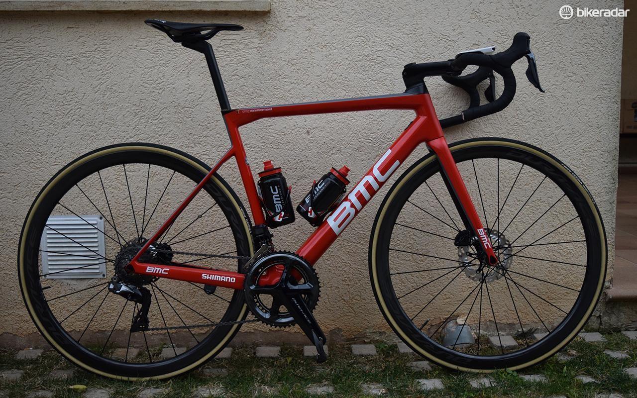 Greg Van Avermaet's BMC Teammachine SLR01 Disc