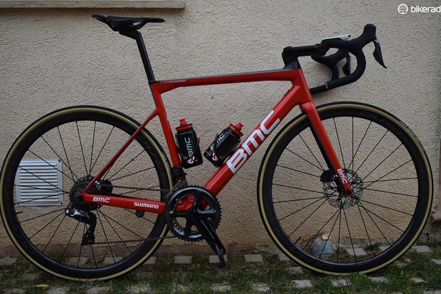 Greg Van Avermaet's BMC Teammachine SLR01 Disc
