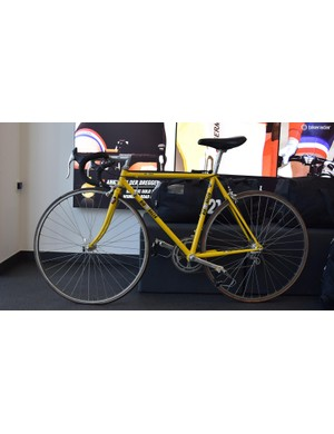In the early days of the business, bike frames and shoes were in the product line-up