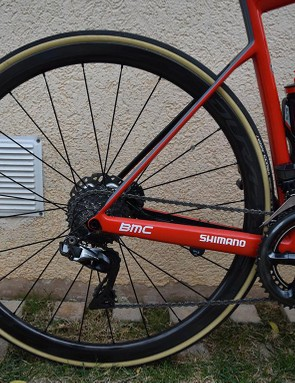 Shimano Dura-Ace R9100 C40 wheels for the Olympic champion