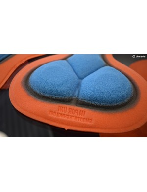 Bioracer's Smooth Technology chamois has no stitching and focuses on comfort and ventilation