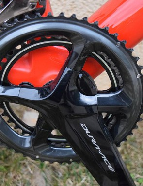 The team will use Shimano's power meter in 2018