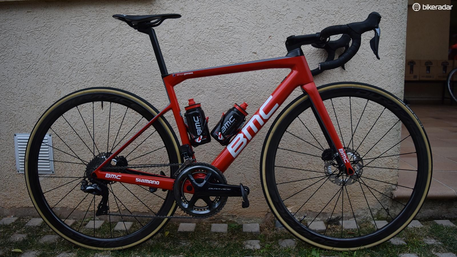 Simon Gerrans' 2018 BMC Teammachine SLR01 Disc
