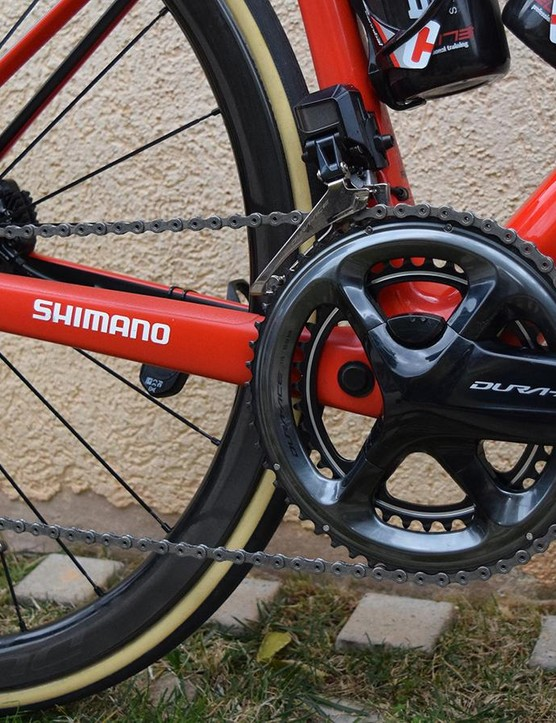 BMC Racing is using Shimano Dura-Ace R9150 drivetrains for the season, including the new power meters