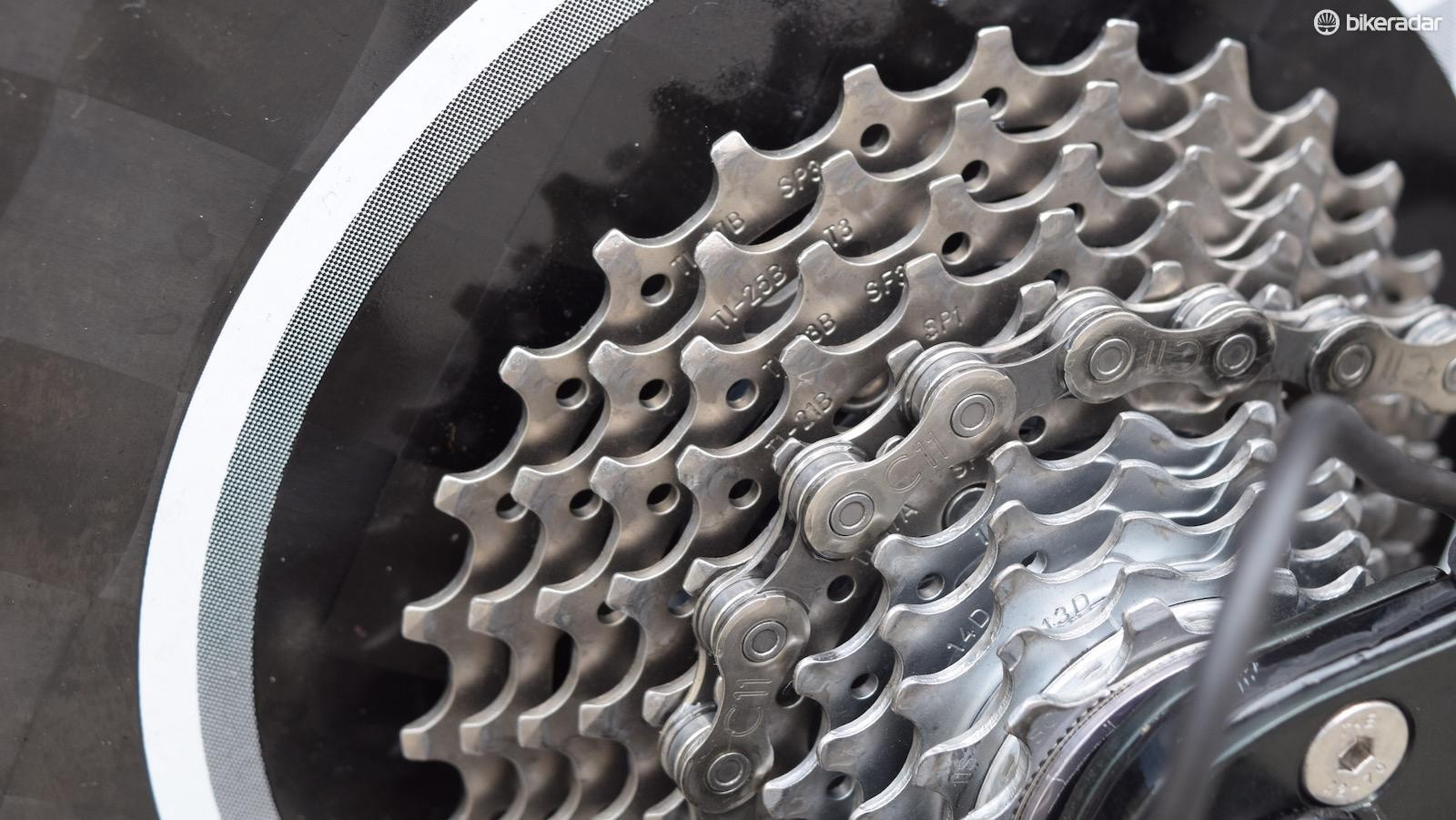 Thomas De Gendt rode an 11-27 tooth cassette
