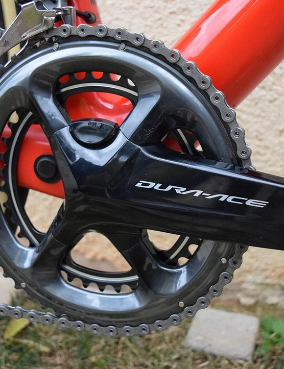 Shimano's new power meter is a subtle addition to the existing crankset