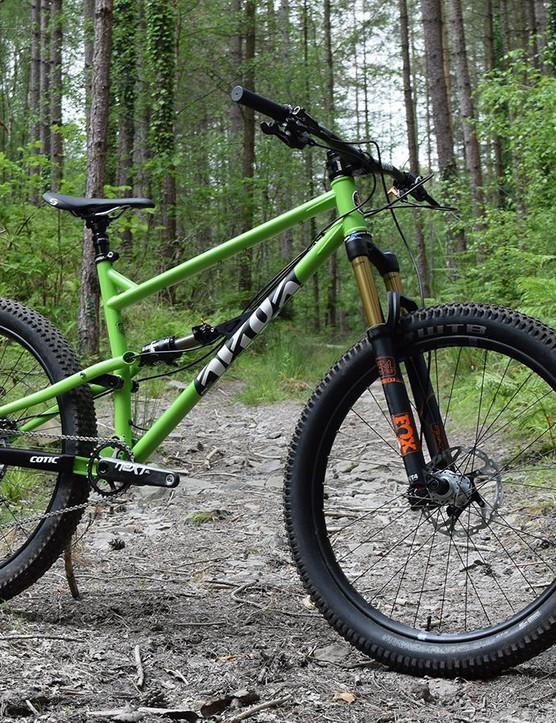 Cotic's new RocketMAX drops 10mm travel from the Rocket but adds big wheels (of both flavours)