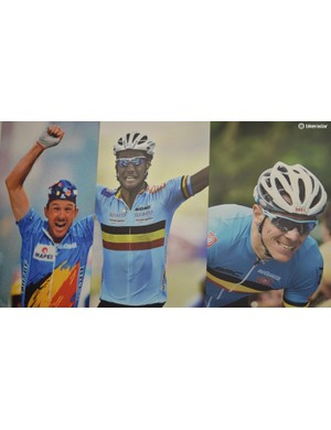 A few famous faces have worn Bioracer national jerseys over the years