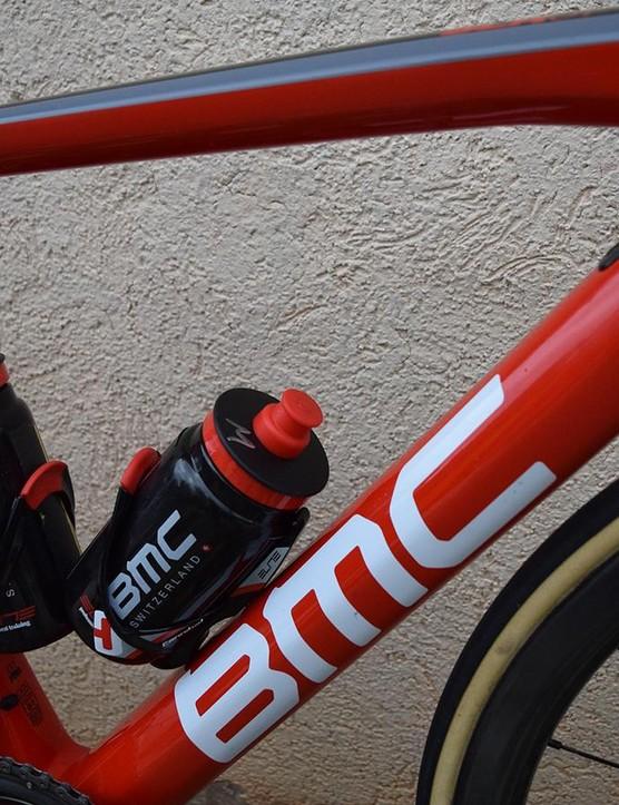 The 1.69m Australian rides a 51cm frame