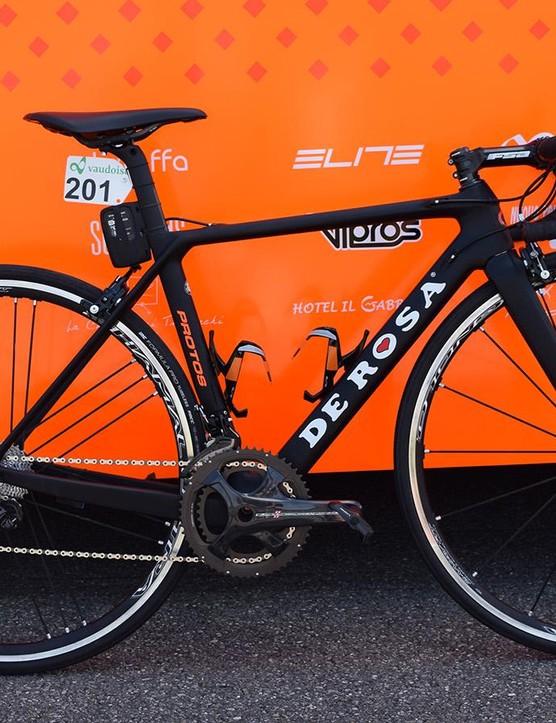 Damiano Cunego's De Rosa Protos for the Tour de Suisse