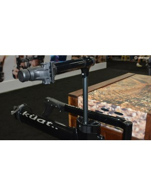 Kuat's NV 2.0 bike rack features an integrated workstand