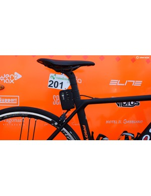 All bikes at the Tour de Suisse were equipped with live data trackers produced by Quarq
