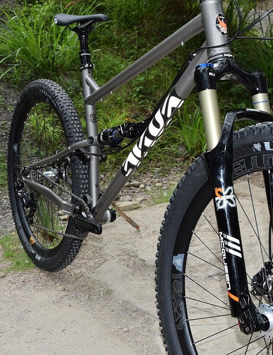 The new X-Fusion McQueen Boost spaced fork