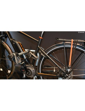 The EasyFold holds two bikes with its adjustable claws