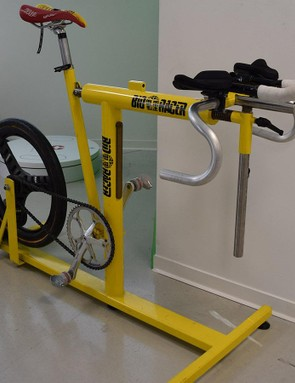 One of Bioracer's early bike fitting tools