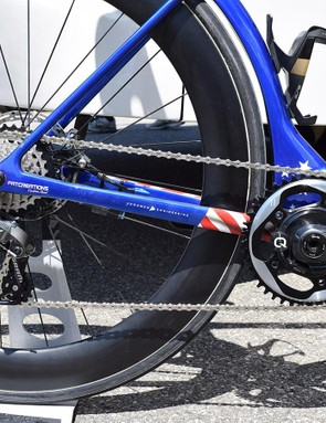 The race bikes have become known for their unusual 1x drivetrain and disc brake only option