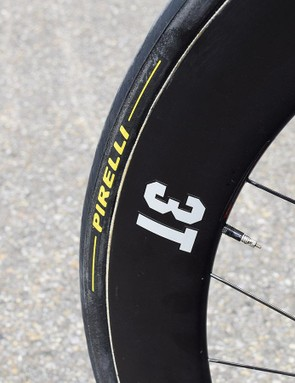 Aqua Blue Sport uses tyres from Pirelli