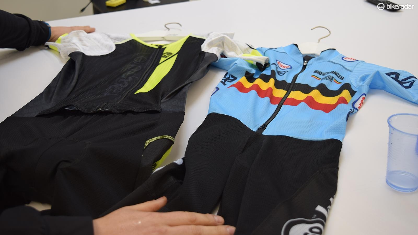 A look at Bioracer's various pro-level skinsuits