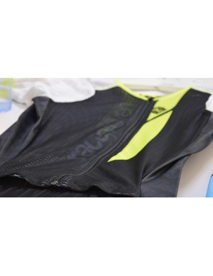 The speed suit material used by Greg Van Avermaet during his Olympic road race victory