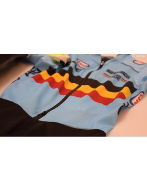 Wout Van Aert's thermal cyclocross speed suit
