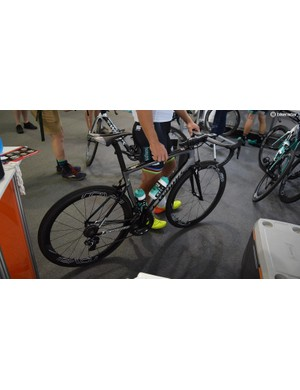 Sagan has also gone for the same custom finish he used in the 2017 season