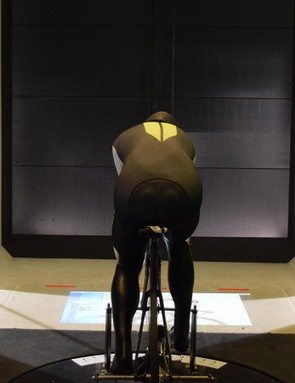 Riders can bring their own time trial setups and use the turbo trainer for real-time analysis