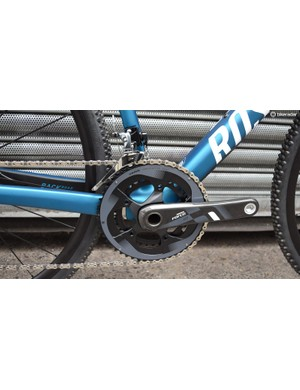 I opted for a 2X crankset for the cyclo-cross season