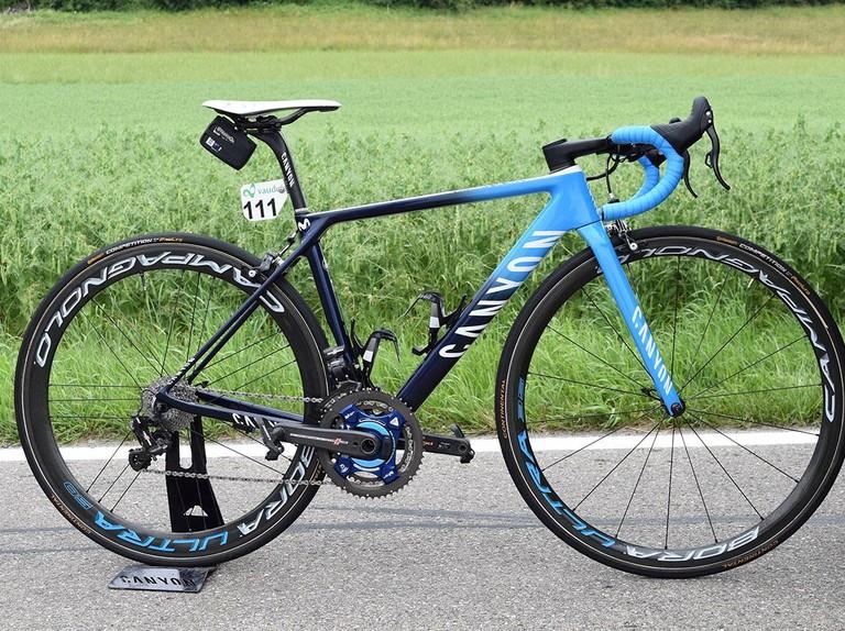 Tour de France bikes: Nairo Quintana's Canyon Ultimate CF SLX — gallery