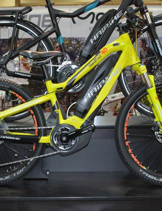 Haibike's SDURO HardFour 4.0 is a kids' e-bike with 24in wheels