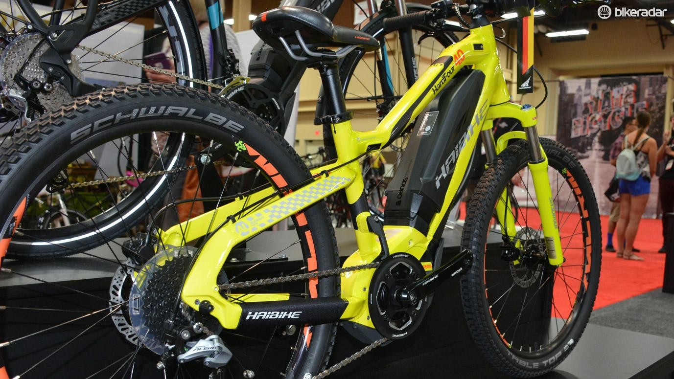 This pint-size hardtail features a Yamaha mid-mount motor