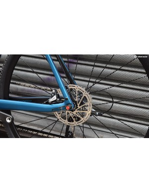 160mm rotors feature front and rear as standard