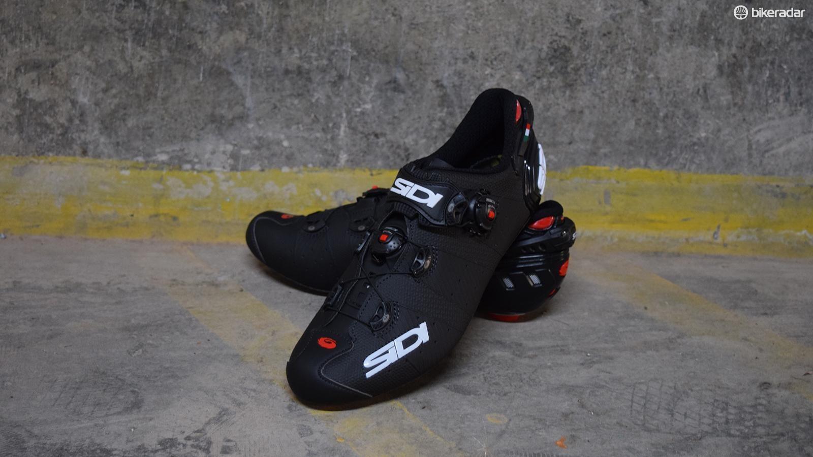 Sidi Wire 2 Carbon Road Bike Shoes Matte Black