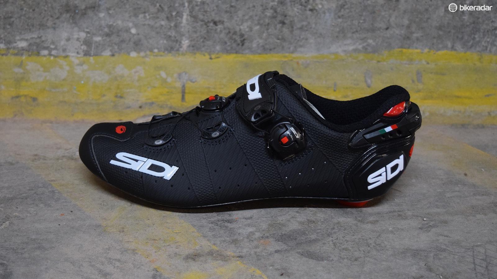 Sidi Wire 2 Carbon Matt road shoe first