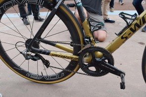 Sagan opted for mechanical shifting for the third Monument of the season