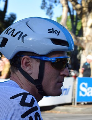 A lengthy side on profile is a common design feature for several aero specific helmets on the market