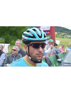 Oscar Gatto wore CTRL One sunglasses for the race