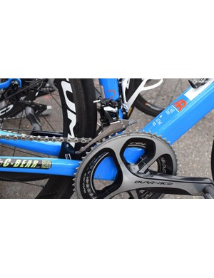 Pro Continental team Wanty-Groupe Gobert had mechanical Shimano Dura-Ace 9100 groupsets