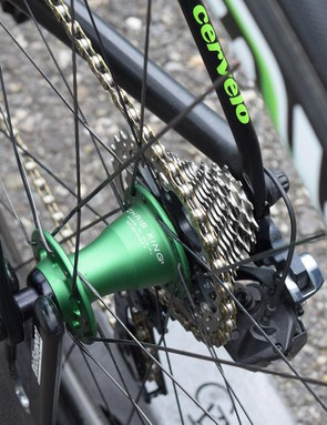 Dimension Data is known to pair its ENVE wheels with Chris King, DT Swiss or ENVE hubs