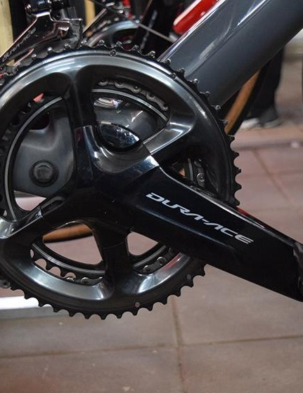 BMC Racing is one of several WorldTour teams running the Shimano Dura-Ace R9100-P crank based power meter system