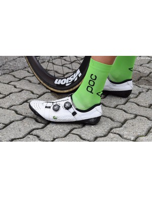 Vanmarcke is another rider who makes fit adjustments to his shoes