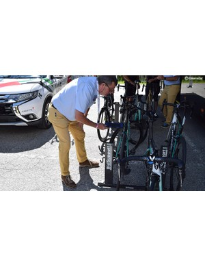 The UCI are continuing to check bikes for mechanical fraud at most WorldTour events