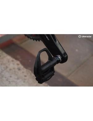 Van Avermaet's runs Shimano Dura-Ace R9100 pedals