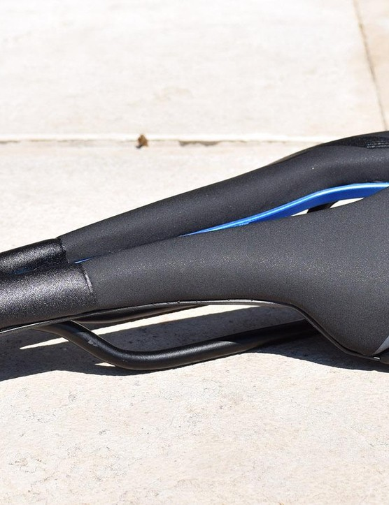 Selle Italia's e-bike range of saddles feature flashes of blue