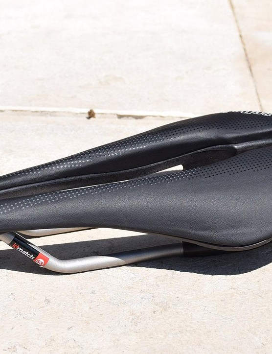 The SP-01 Boost comes with Selle Italia's Ti316 rails