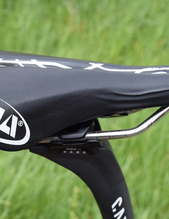 Zakarin's Selle Italia SLR saddle has had its fair share of usage
