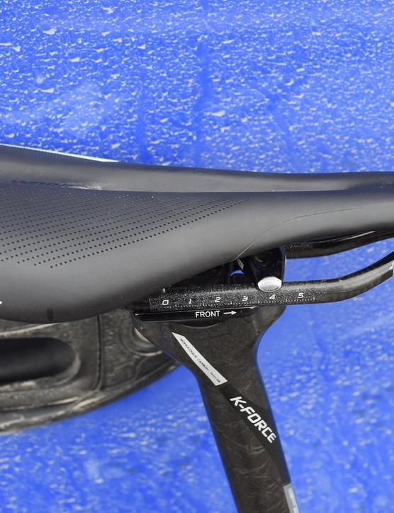 The Specialized theme continues with a S-Works Toupe saddle
