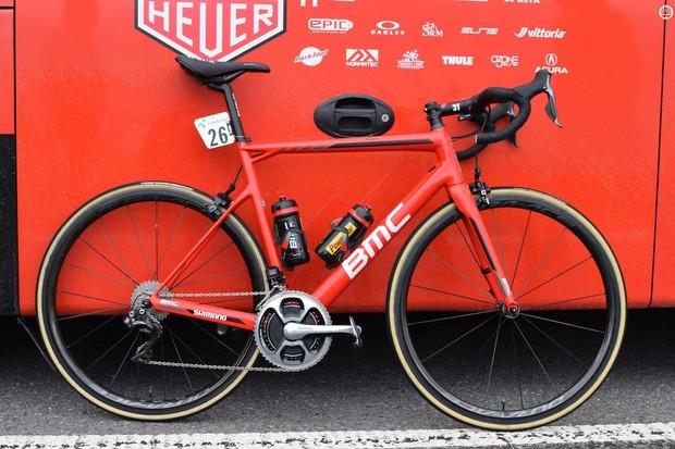 Tejay Van Garderen's BMC Teammachine SLR01