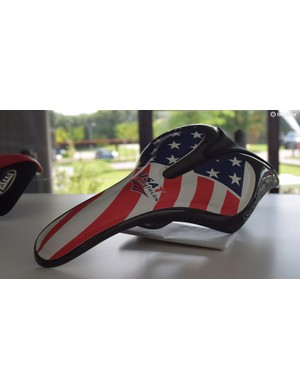 The Italian company has made saddles for the US Triathlon team