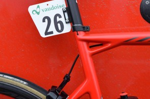The triple-triangle seat cluster has become synonymous with BMC framesets